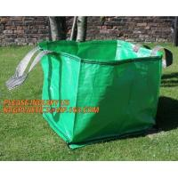 China Home Garden Supplies Reusable Gardening Collapsible Garden Leaf Bags,2Pcs/Set Large Capacity 272L Trash Garden Leaf Weed wholesale