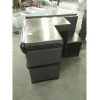 China Anti Corrosion Supermarket Metal Cash Table Used Grocery Store , Powder Coated wholesale