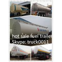 China CLW high quality fuel tank trailer for sale wholesale