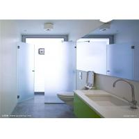 China Safety Tempered Frosted Glass Sheets / Custom Frosted Glass For Bathroom Door wholesale