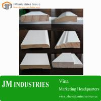 China Wood Home Building Material-wooden moulding profile white primed moulding Manufacturer wholesale