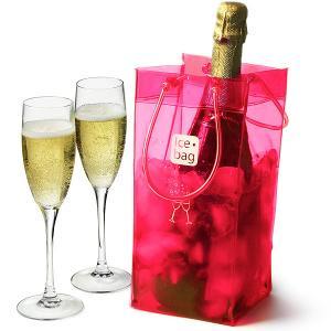 China Large Storage Reusable PVC Gel Wine Cooler Bag For Wine Beer Bottle wholesale