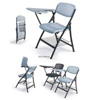 China foldable training chair with wrting board and basket wholesale