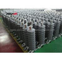 China 46KV Horizontal Composite Line Post Insulator With Clamp Top And Gain Base wholesale