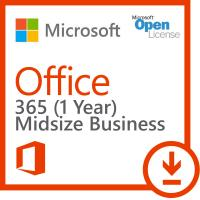 China Volume Office 365 Key Code Midsize Business One Seat Open License For PC wholesale