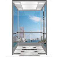China PVC Floor Scenic Passenger Lifts with 800-1600Kg loading Capacity on sale
