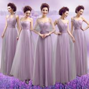 China Purple Halter Chiffon And Organza Elegant Evening Dresses TSJY049 wholesale
