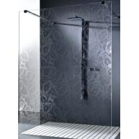 Obscure Pattern Shower Tempered Glass , Tempered Glass Bathroom