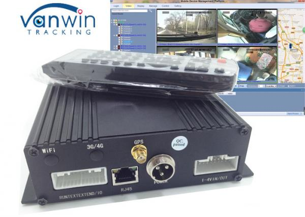 Quality 4CH SD Car WIFI Router HD Hidden MDVR for School BUS CCTV System for sale