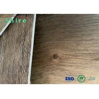 China 100% Virgin Material SPC Flooring Rigid Core Vinyl Plank With 1.5mm Back Layer wholesale