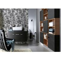 China Riverstones Printing 3d Home brick effect wall covering For Saloon , Sound absorbing wholesale