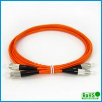 China Multimode Duplex Fiber Optic Patch Cables For High Bit Rate Data Transmission wholesale