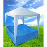 China 1.5 x 1.5m Square PE-roof Children's Gazebo wholesale