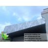 China Architectural Aluminum Facade Panels / Decorative Metal Sheet Facade wholesale