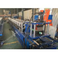 China Guide Rails Shutter Door Roll Forming Machine For Light Steel Construction wholesale