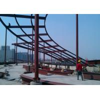 China High Rise Building Top Decoration Steel  Structure Construction wholesale