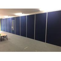 Rubber Seals Movable Partition Wall For Convention Center Colors Customized