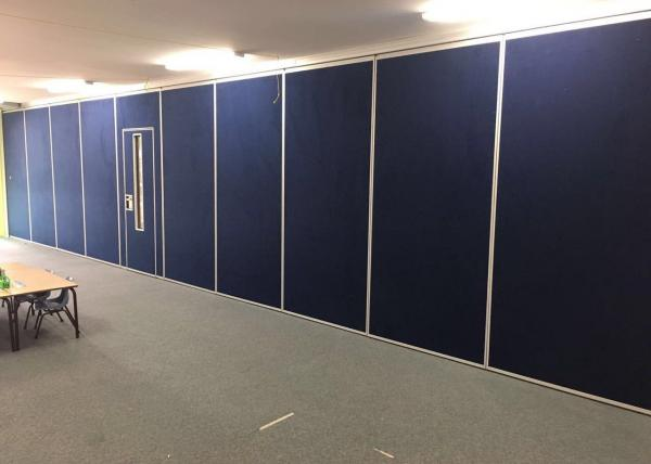 Quality Fabric Finished Movable Partition Wall Telescopic Sleeve Panel MDF for sale