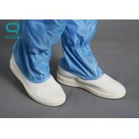 China Washable Anti Static Footwear , Non Slip Work Boots With Static Dissipative Inner Soles wholesale