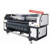China Multi Color Hybrid UV Printer With Double DX5 Heads Printing Width 1800mm wholesale