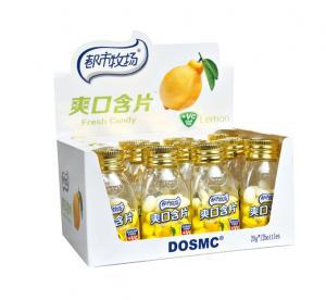 Buy cheap Покрашенные конфета мяты сахара витамина К свободные/конфеты с лимоном приправляют 20 г * 12 бутылки from wholesalers