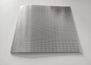 China Wear Resistance Wedge Wire Screen , 304 Stainless Steel Screen 0.3mm Slot wholesale