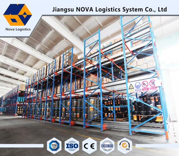 Quality Capacity 1500kg Per Shuttle Pallet Racking For Logistic Distribution Centers for sale