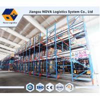 China Semi Automatic With Battery Operated Motor Drive In Shuttle Pallet Racking System wholesale