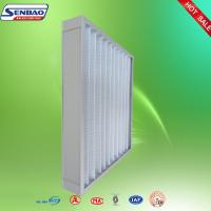 Buy cheap Воздушные фильтры панели вентиляции Вашабле плиссированные промышленные с высокой эффективностью from wholesalers