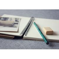 China custom a4 paper spiral Notebook with colored paper wholesale