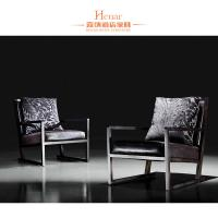 China Rubber Wood Dining Room Furniture Modern Arm Chair With Black Leather Upholstery wholesale