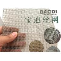 China 12 Mesh Galvanized Woven Square Crimped Wire Mesh Packed In Roll wholesale