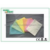 Buy cheap CE ISO Certificate Dental Disposable Apron With Tissue Coated PE Materials , 39*68cm from wholesalers