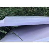 China Lightweight Expanded PVC Foam Board 0.45g / Cm3 Density For Wall Cladding Partitions wholesale