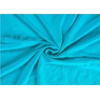 China 240 Gsm Spandex Jersey FabricCombed Cotton Soft Feel With Multiple Colors wholesale