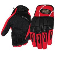 China Women Motorcycle Gloves Sport Racing Leather Riding Gloves With Reflective Stripe wholesale