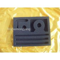 China Custom Anti-Fatigue Eva Foam Mats With Sponge and Vacuum Tray , Black wholesale