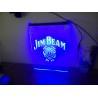 China LED Edge-lit Base Jim Beam Neon Light Sign Man Cave Restaurant Pub Bar Bedroom Display wholesale