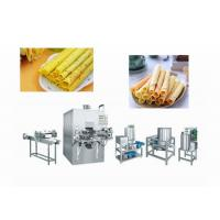 China High Efficiency Wafer Stick Making Machine For Food / Beverage Shops wholesale