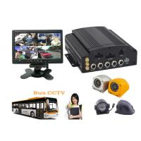 China Hybrid Four - In - One HD Mobile DVR 4CH 720P For Buses , HD Vehicle DVR wholesale