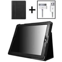 Cool water resistant Black ipad2 accessories iPad2 Hard protection Case for man