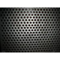 China SUS304 316 Stainless Steel Perforated Sheet For Ceiling / Shelves , pvc coated wire mesh wholesale