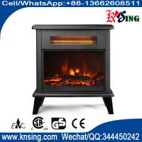 SF-1323 Freestanding Electric Fireplace Flame Heater chimenea electrica log Stoves infrared quartz tube electric heater