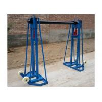 Buy cheap 10 Ton Hydraulic Cable Drum Stand , Cable Jacks Stands For Cable Stringing from wholesalers