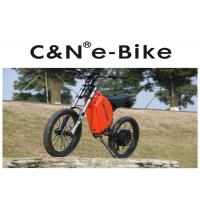 China High Power Zero - Emission Fastest Off Road Electric Bike , Off Road Electric Bicycle wholesale