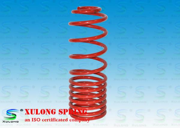Quality Red Snowmobile Variable Rate Coil Springs Alloy Steel ISO TS16949 Certification for sale