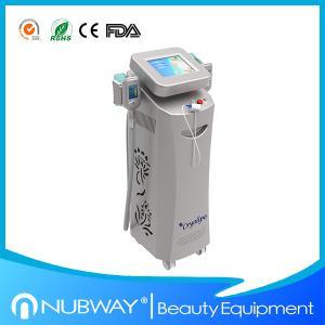 China Professional! 2 handles 1800w cryolipolysis vacuum liposuctio/cryotherapy slimming machine on sale