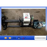 China 220 Voltage Electric Cable Pulling Winch / Cable Drum Winch Stringing Equipment wholesale