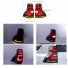 China Red 4x4 LED Car Tail Lights For Toyota  landcruiser prado 2018 FJ150 / Auto Rear Light wholesale
