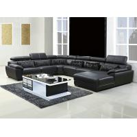 China 301#;  modern U shape genuine leather sofa set, home furniture,office furniture, living room furniture, Africa sofa; wholesale